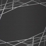 Black metal grill Abstract background vector illustration. Royalty Free Stock Photos
