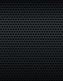 Black Metal Grill Pattern Background Stock Photos