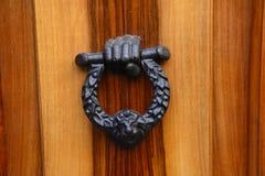 Black metal handle Stock Images