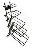 Black metal hanger-rack Royalty Free Stock Image