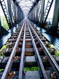 Black Metal Railway Stock Images