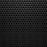 Black metal texture with holes Stock Images