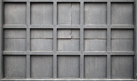 Black metal wall, background photo texture Royalty Free Stock Image