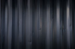 Black metal wall Stock Images