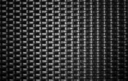 Black metal weave background Royalty Free Stock Photo