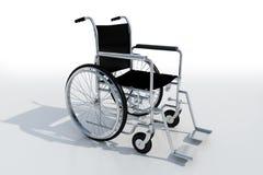 Black and metal Wheelchair Stock Photos