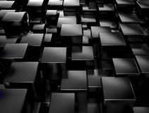 Black metallic background royalty free stock images