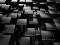Black metallic background vector illustration