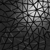 Black metallic industrial triangular abstract background Stock Image