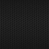 Black metallic mesh Royalty Free Stock Images