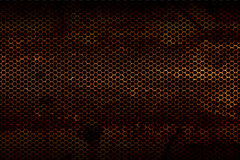 Black metallic mesh background texture Royalty Free Stock Images