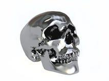 Black Metallic Skull Royalty Free Stock Images