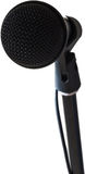 Black microphone Stock Images