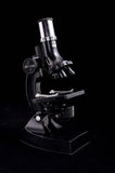 Black Microscope Royalty Free Stock Photo