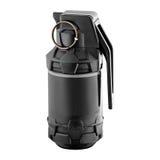 Black military grenade Stock Photo
