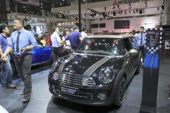 Black mini clubman car Royalty Free Stock Image