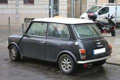 Black Mini Cooper Royalty Free Stock Photos