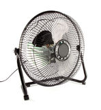 The black mini fan. To reduce some hot weather Royalty Free Stock Images