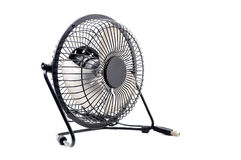 The black mini fan Stock Photography
