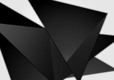Black minimal tech background Stock Images