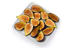 Black Mission Figs Royalty Free Stock Photos