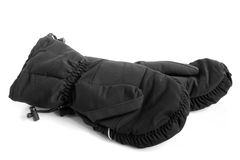 Black mittens Royalty Free Stock Photo
