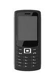 Black mobile phone Royalty Free Stock Image