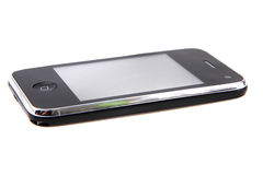 Black mobile phone Royalty Free Stock Photos