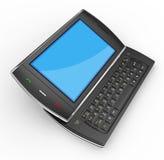 Black mobile smartphone - 3d render Royalty Free Stock Image