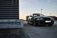 Black modern car Stock Image