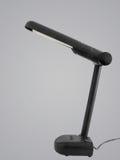 Black modern desk lamp Stock Photography
