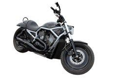 Black modern motorcycle Royalty Free Stock Photo