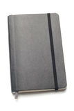 Black Moleskine notebook Royalty Free Stock Photography