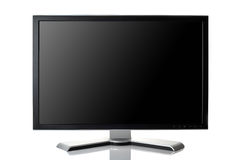 Black monitor Stock Images
