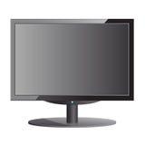 Black monitor Royalty Free Stock Photos