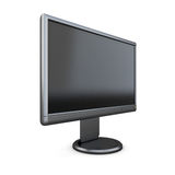Black monitor Stock Photo