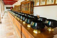 Black monk bowl Stock Photography