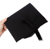 Black mortarboard Stock Image