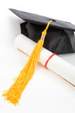 Black Mortarboard Stock Images