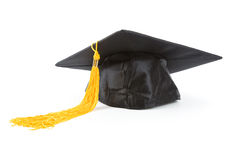 Black Mortarboard Royalty Free Stock Photo