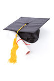 Black Mortarboard Royalty Free Stock Images