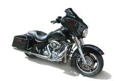 Black motorcycle Stock Photos