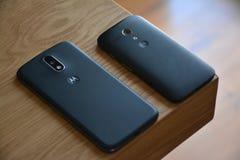 Black Motorola Android Smartphone Royalty Free Stock Photo