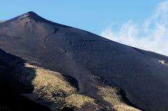 Black mount Etna Stock Photo