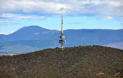 Black Mountain Canberra Stock Images