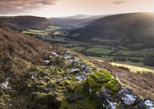Black Mountains Royalty Free Stock Photography