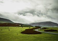 The Black Mountains Stock Photography