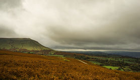 The Black Mountains Royalty Free Stock Images