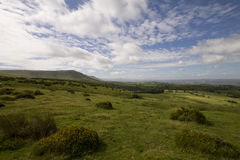 The Black Mountains Royalty Free Stock Image