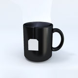 Black mug Stock Image